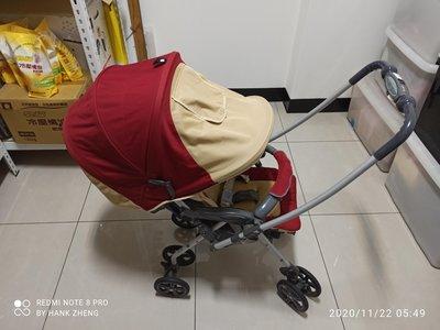 Combi 嬰兒車全罩 雙向推車 可平躺  二手 手推車
