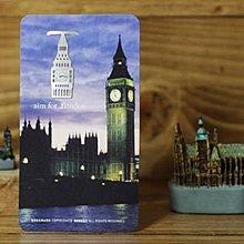【象牙cute ta】韓國 Bookfriends bookmark _ London  書的朋友書籤  倫敦