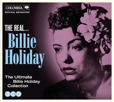 正版3CD《比莉哈樂黛》Billie Holiday/  The Real...Billie Holiday 全新未拆