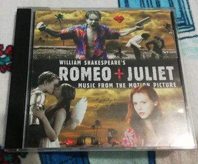 李奧納多主演電影《羅密歐與茱麗葉》電影原聲帶