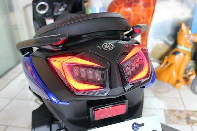 【翰翰二輪】燈匠 BWSR BWS'R 火鳥銳眼 魔眼 燻黑導光LED尾燈總成 LED方向燈模組 含裝免運 KOSO