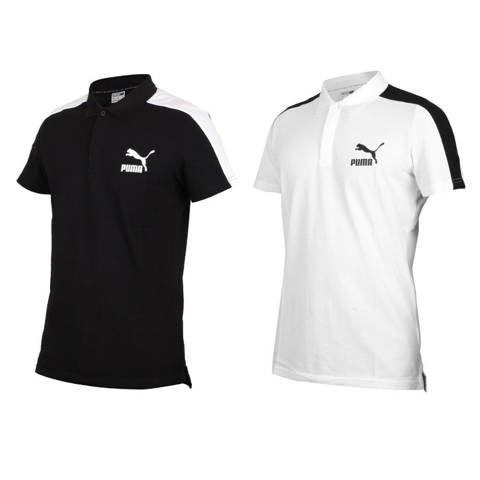 PUMA 男短袖POLO衫(短袖上衣 慢跑 高爾夫 網球 羽球 休閒【03320878】≡排汗專家≡
