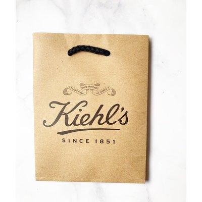 【芭樂雞】KIEHL'S 契爾氏 品牌紙袋  (12*6.5*16cm)