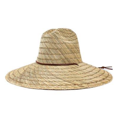 [CABAS滑板店] BRIXTON BELLS FEDORA 米色 │脖繩 大帽沿 加州 滑板 草帽