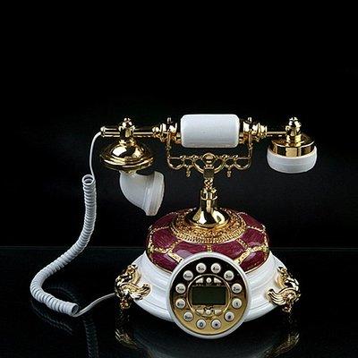 福利館◎【復古風仿電話x免運優惠中x贈USB燈】GDB-235A 香格拉系列 經典電話