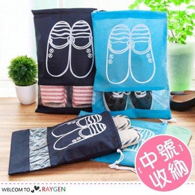 HH婦幼館 加厚束口旅遊收納鞋袋 防塵袋 中號【2Z172Z531】