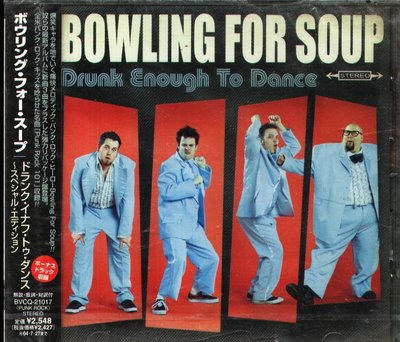 K - Bowling For Soup - Drunk Enough To Dance - 日版 CD+1BONUS