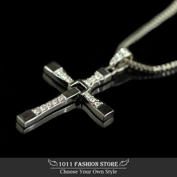 玩命關頭 十字架項鍊 / 水鑽十字架 / 情人對鍊 / 鈦鋼項鍊 / 不鏽鋼十字架項鍊 / 西德鋼項鍊 唐老大馮迪索