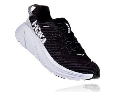 =CodE= HOKA ONE ONE RINCON 透氣網布慢跑鞋(黑白) 1102875BWHT 輕量 路跑 女