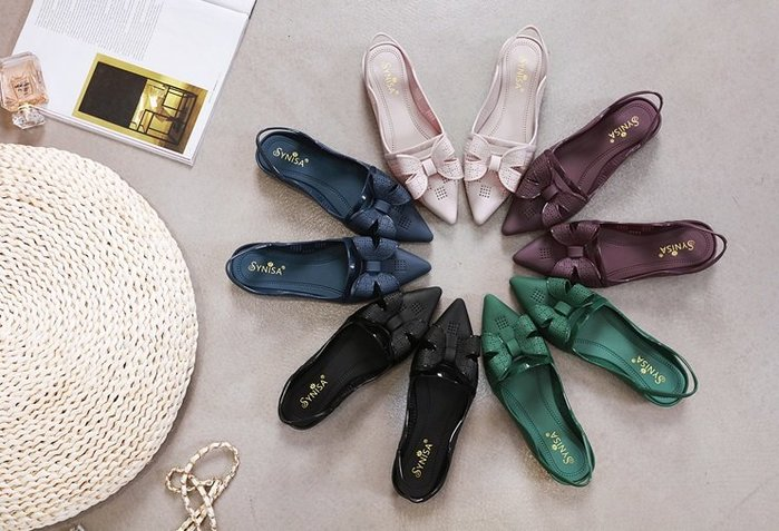 【M's】19春夏韓版尖頭簍空透氣涼鞋 黑色 藕色 藍色 綠色 紫色*5色36~39號。M80302