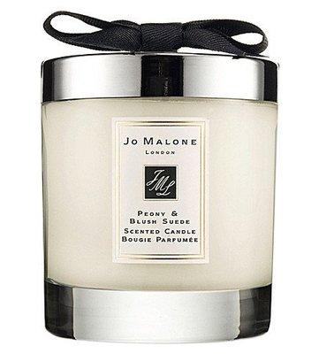 [英國專櫃團購] #現貨 JO MALONE 牡丹與胭紅麂絨香氛工藝蠟燭Peony & Blush Suede 200g