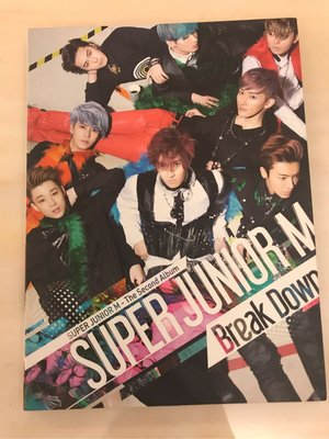 Super Junior M 二手CD — Break Down