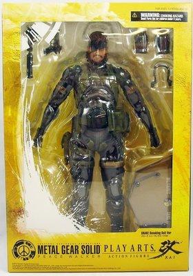 全新 Play Arts 改 Metal Gear Solid 潛龍諜影 和平先驅 盾牌 史内克 Snake