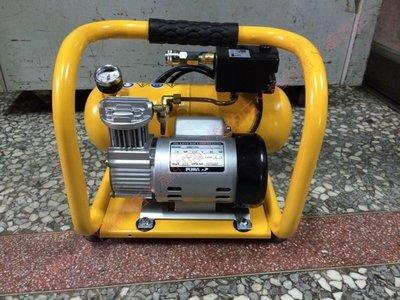 =SS-ㄚ樟的店= (附發票) PUMA 手提式1/4HP*4L無油式靜音空壓機