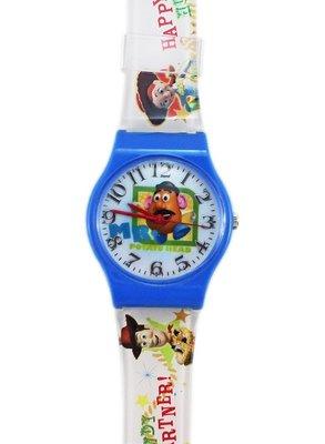 【卡漫迷】 迪士尼 蛋頭先生 手錶 L ㊣版  Mr. Potato Head 玩具總動員 女錶 卡通錶 兒童錶 膠錶