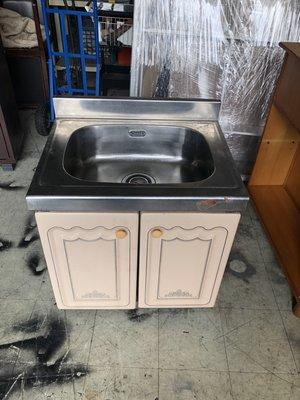 大高雄冠均二手貨家具(全省買賣)---304#  白鐵    流理台    水槽    洗手台    洗菜台