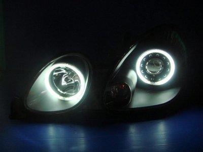 小亞車燈╠ 全新LEXUS.GS300酷黑版CCFL光圈燈送黑框魚眼大燈