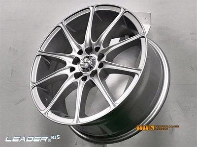 【小茵輪胎舘】耀麒 BJ5 新款 13吋 鋁圈樣式 4X100/114.3 5.5J ET35 銀 (配胎套餐大折扣)