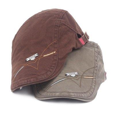 貝雷 帽 鴨舌帽-春夏鐵標休閒純色男女帽子6色73tv222[獨家進口][米蘭精品]