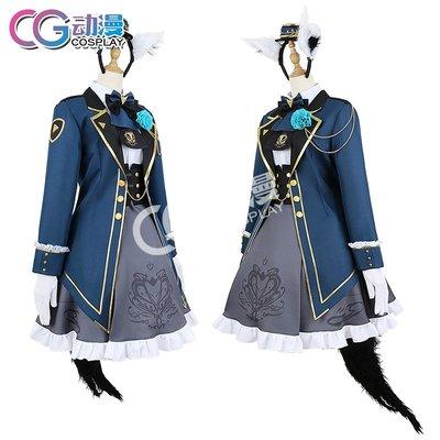 CGCOS動漫服裝Vtuber虛擬偶像hololive白上吹雪游戲cosplay女裝