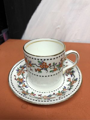 英國手繪杯盤 Espresso咖啡杯