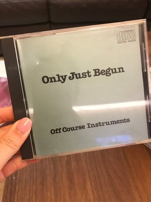 9.9新 Only Just Begun - Off Course Instruments 合集 光碟無刮痕 個人收藏 CD