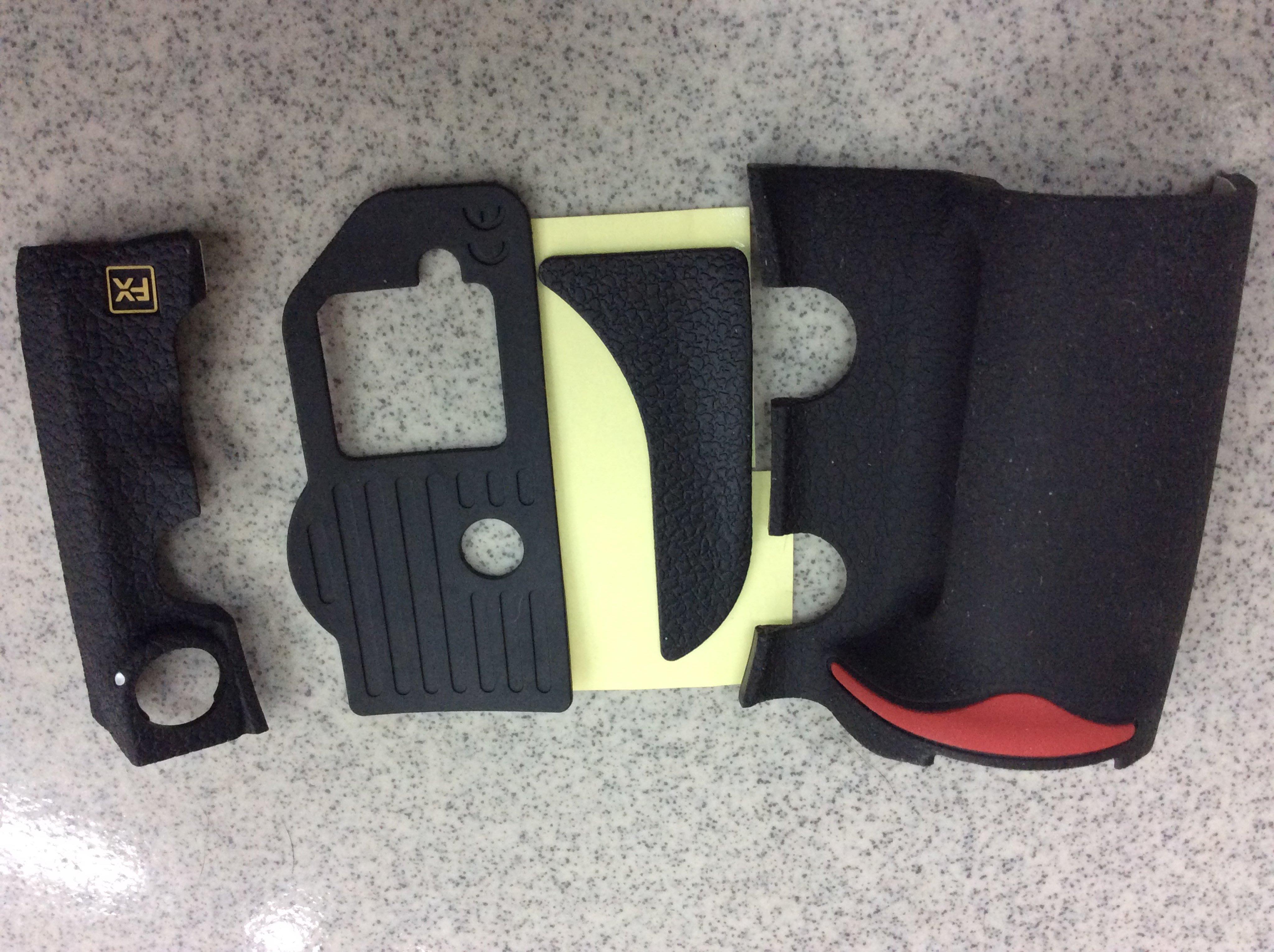 【明豐相機維修 ][ NIKON D700 單眼相機 全機飾皮 更換 便宜賣 D4 d800 d300 d200