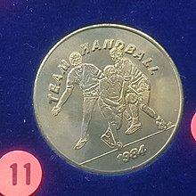 ☆承妘屋☆1984年美國洛杉磯奧林匹克運動會奧運紀念章 ~ZAB.板球.11