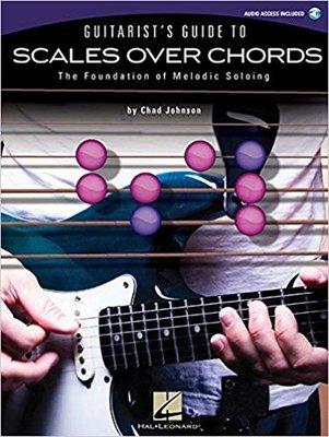 【反拍樂器】進口書籍-Guitarist's Guide to Scales Over Chords 吉他和弦音階指南