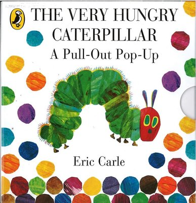 *小貝比的家*THE VERY HUNGRY CATERPILLAR:A PULL-OUT POP-UP /小開本立體書