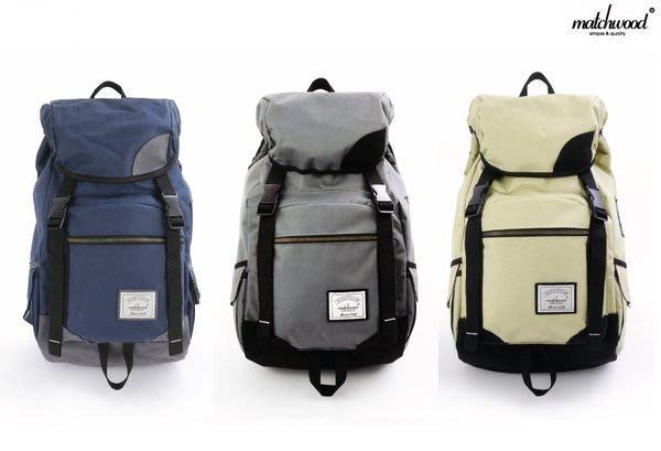 { POISON } MATCHWOOD APOLLO 美式戶外風格 上蓋式多功能設計 17吋筆電夾層 大容量後背包