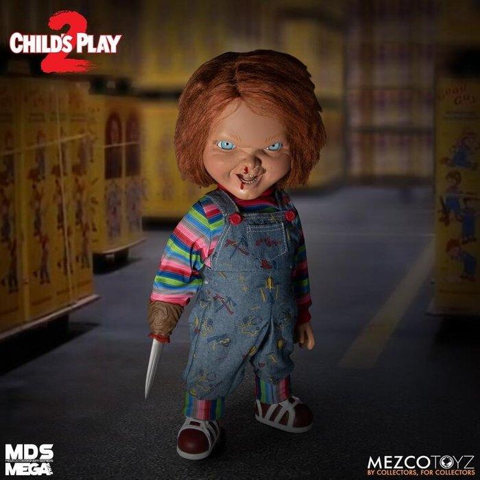 逢甲 爆米花 預購 2月 免訂金 代理 Mezco Toy 15吋 恰吉 說話 鬼娃恰吉 可動 CHUCKY 異靈七殺2