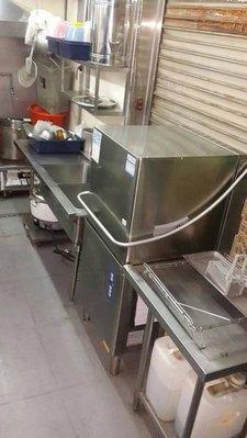 二手洗碗機 洗劑 乾精 全省配送 洗碗機租賃 餐廳用 桌下型洗杯機  中古 營業用洗碗機