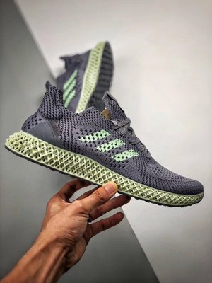 Adidas Consortium Future Runner 4D 灰綠 鏤空 透氣 復古 慢跑鞋 D96972 男鞋