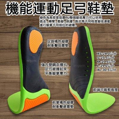 PU氣墊機能運動足弓鞋墊 扁平足 低足弓 腳底避震減壓久站工作長途走路 腳弓支撐性力強 足跟壓力釋放 大拇指跑步受力紓壓