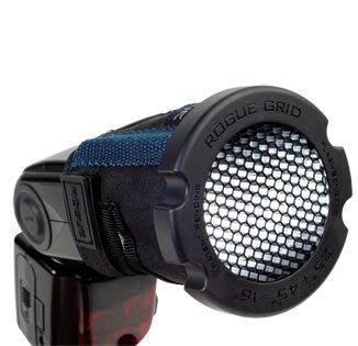 呈現攝影-Rogue 美國樂客 LF-4005 三合一蜂巢罩 閃光燈 通用型 蜂巢聚光 580ex 430ex SB900