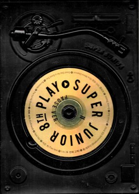 SUPER JUNIOR / PLAY-韓國進口Pause版(刮傷不影響讀曲)