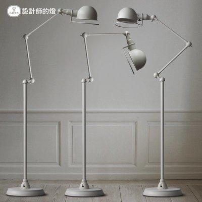 設計師的燈現代歐式簡約客廳臥室美式創意復古燈具機械手臂落地燈