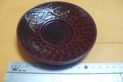 紫色小館89-------早期上彩木盤