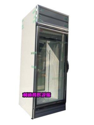 《利通餐飲設備》(瑞興)600L 雙門冷藏展示冰箱(前後可開) 2門冷藏冰箱 玻璃兩門冰箱 後補式