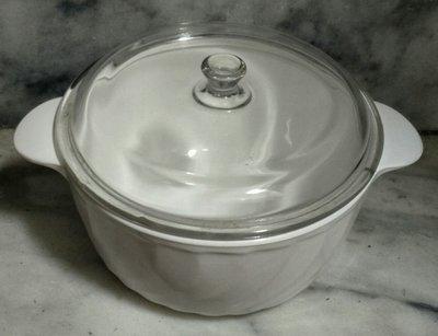 法國 ARCOFLAM 超耐熱鍋 / 陶瓷鍋...適用:瓦斯爐.電子爐.微波爐...中(1)...媲美鍋寶三用鍋
