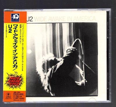 U2 - Wide Awake In America 日版 u1