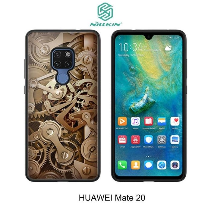 *PHONE寶*NILLKIN HUAWEI Mate 20 /Mate 20 Pro 金芯玻璃手機殼 玻璃背蓋 保護殼