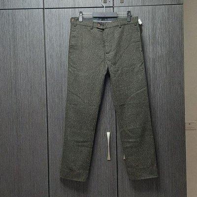 全新【HDK海覺】CORNELL SLACKS 彈性羊毛褲34腰