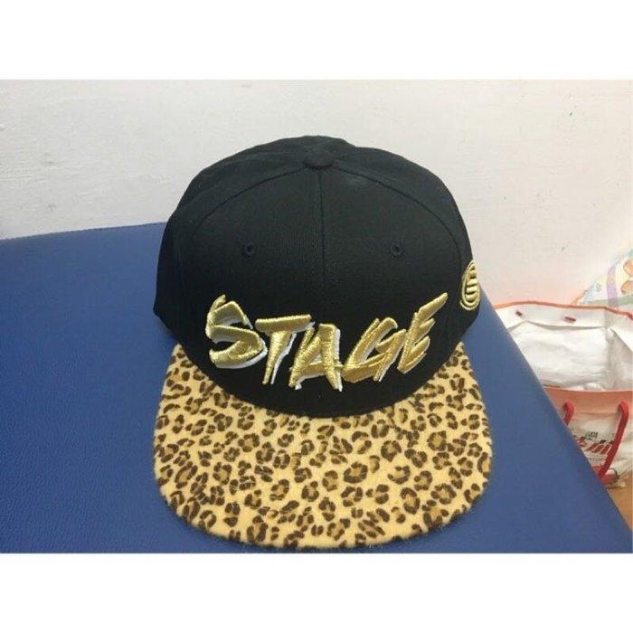 羅志祥 STAGE棒球帽 STAGE豹紋棒球帽 STAGE正品棒球