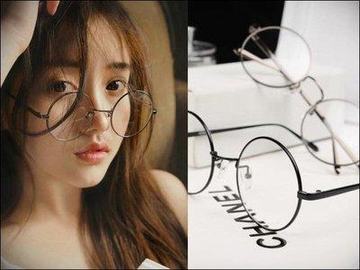 MR.PAPA 眼鏡 (現貨)【MP-8004-6816平】韓版潮全框金屬平光鏡男女款超輕圓框眼鏡架