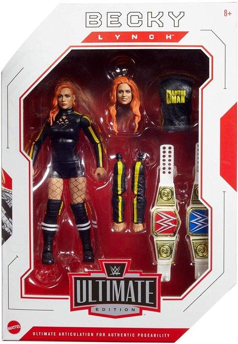 ☆阿Su倉庫☆WWE摔角 Becky Lynch Ultimate Elite Figure 女漢子終極精華版人偶公仔