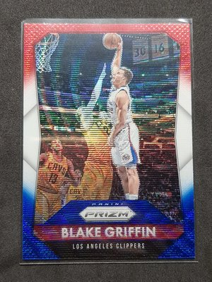 Blake Griffin 2015-16 Prizm Red White and Blue