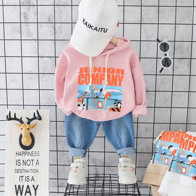 【吉仔媽媽】兒童寶寶秋裝套裝男童兩件套李現韓商言KK戰隊服小童洋氣嬰兒衣服C142