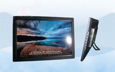 全新22吋高清LED顯示22寸 數位相框 電子相框 影音播放 帶HDMI接口支援 播放內置喇叭 MP4遙控廣告機